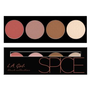 LA Girl Beauty Brick Blush Collections – Spice