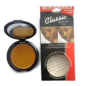 Classic Makeup Total Coverage Concealing Foundation